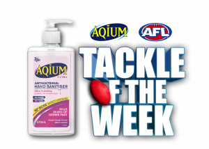 KIIS – Aqium AFL Tackle of the Week – Win a major prize valued over $9,000 OR 1 of 25 minor prizes