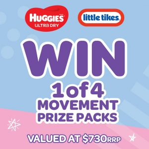 Little Tikes – Win 1 of 4 Huggies & Little Tikes prize packs