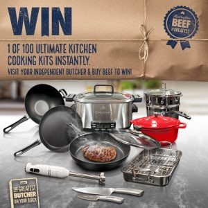 Meat & Livestock Australia – Win 1 of 100 Ultimate Kitchen kits valued at over $2,500 each