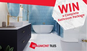 Network 10 – The Living Room – Win a Complete Bathroom prize package valued up to $18,000