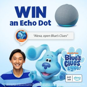 Nick Jr. – Win 1 of 5 Echo Dot devices