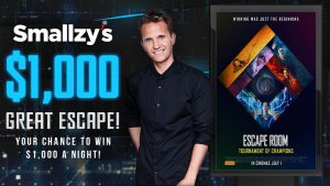 Nova – Great Escape – Win 1 of 4 cash prizes valued at $1,000 each