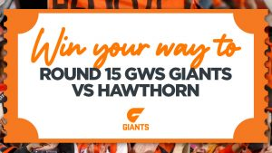 Nova Sydney – Win tickets for 5 people to the Sydney Swans vs Hawthorn game