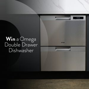 Omega Appliances – Win a new Omega Double Drawer Dishwasher valued at $1,500