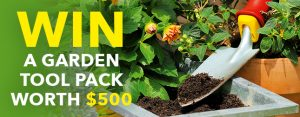 Organic Gardener – Win a Garden Tool prize pack valued at $500