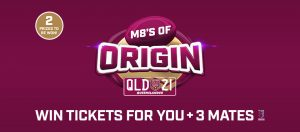 Personalised Plates Queensland – Win a major prize of 4 Diamond tickets PLUS more OR a minor prize of 4 Gold tickets to State of Origin Game II