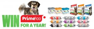Prime100 – Win a year's supply of Single Protein Diet range for your dog