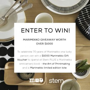 Stem – Win a selection of Marimekko products from Stem valued at $1,000
