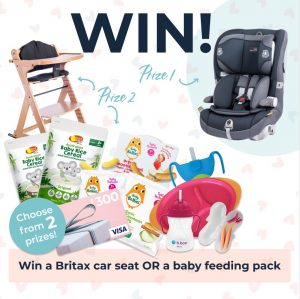 Tell Me Baby – Win either a Car Seat OR a prize pack filled with baby stuff