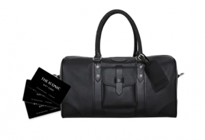 The Iconic – Win 1 of 3 prize packs including a $500 The Iconic gift card PLUS an American Express overnight bag