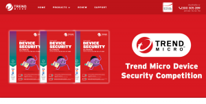 Trend Micro ANZ – Win 1 of 5 prizes of Trend Micro Device Security Ultimate 6 device PLUS 1 year subscriptions valued at $382 each