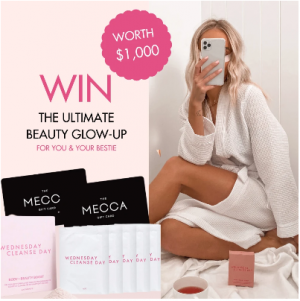 Wednesday Cleanse Day – Win the Ultimate Beauty Glow-Up prize package for you and your friend