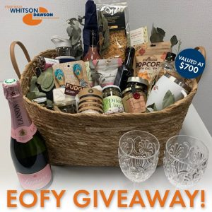 Whitson Dawson – Win a hamper and get your Tax Return done by the professionals for FREE