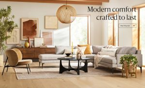 Williams-Sonoma – West Elm Monthly Giveaway – Win 1 of 6 West Elm gift cards