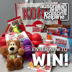 Animal Poisons Helpline – Win a bumper prize pack for your pooch