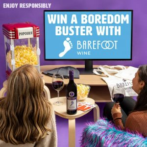 Barefoot Wine & Bubbly – Win 1 of 3 prize packs