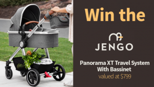Channel Seven – Sunrise Family Newsletter – Win a Jengo Panorama XT with Bassinet Grey/Chrome