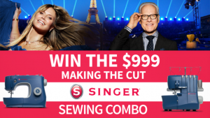 Channel Seven – Sunrise – Win 1 of 3 prize packs of a Singer Sewing machine PLUS an Overlock