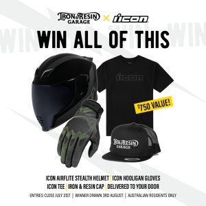 Iron & Resin Garage – Win a prize package valued at $750