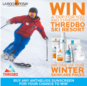 La Roche-Posay – Win a major prize of a trip to Thredbo Ski Resort for 4 people OR 1 of 5 minor prizes