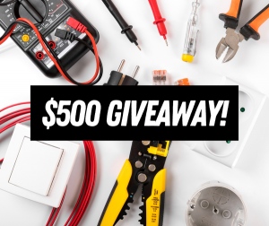 Maines Electrical – Win a $500 voucher for any residential electrical services