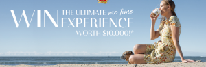 Moccona – Me-Time – Win a major prize of an Ultimate Me-Time Holiday valued up to $10,000 OR 1 of 125 Qantas holiday vouchers valued at $400 each