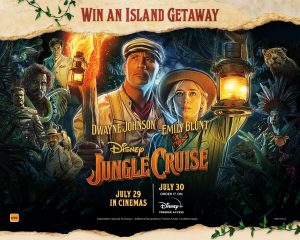 Network 10 – Disney's Jungle Cruise – Survivor – Win a Getaway to Green Island, Cairns valued at $9,500