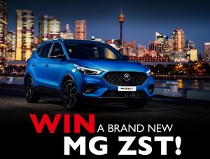 Network 10 – The Bachelor – Win a MG ZST Essence including all on road coasts and metallic paint surcharge valued at over $33,000