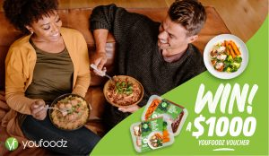 Network 10 – The Bachelor – Youfoodz – Win 1 of 10 vouchers to spend on ready-made meals online