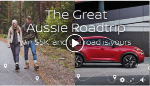 Nissan – Win $5,000 to put towards your Great Aussie Roadtrip PLUS a loan of a Nissan vehicle for 7 days and 2-night accommodation at any BIG4 Holiday Park