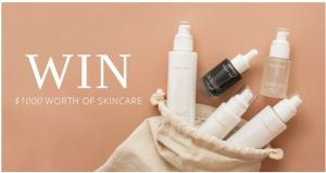 Peggy Sue – Win a skincare prize pack valued at $1,000