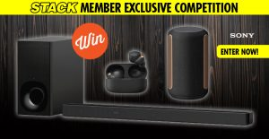 Stack – Win the ultimate home and on-the-go Sony audio prize pack