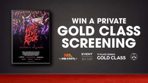 Triple M – Win 1 of 5 Gold Class Experience for 20 people: Long Live Rock…Celebrate The Chaos