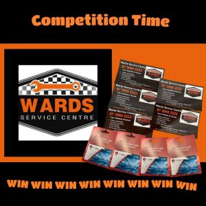 Wards Service Centre & Safety Certificates – Win 1 of 4 Fuel vouchers valued at $50 each