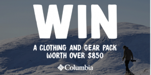 We are Explorers – Win a Columbia clothing and gear prize pack valued at over $800