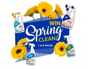 30 Seconds Australia – Win 1 of 8 Spring Cleaning prize packs