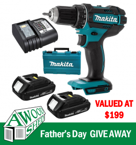A Wood Shed – Win a Father's Day 2021 prize pack