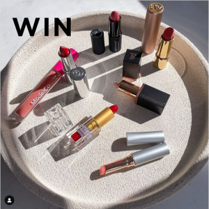 Active Skin – Win a huge Lipstick bundle for you and your friend