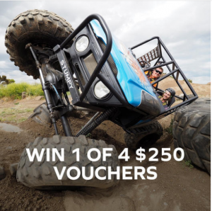 Adrenaline – Win 1 of 4 vouchers valued at $250 each for Dads