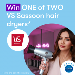 Canstar Blue – Win 1 of 2 Hydro Smooth Fast Dry Hair Dryers