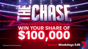 Channel 7 – Chase the Cash – Win 1 of 50 cash prizes valued at $2,000 each