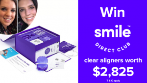 Channel Seven – Sunrise Family Newsletter – Win a set of SmileDirectClub clear aligners PLUS more