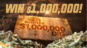 Channel Seven – Sunrise Million Dollar – Win a trip to Gold Coast to Win a maximum prize of one million dollar
