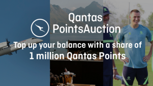 Channel Seven – Sunrise Qantas Points Auction – Win 1 of 5 prizes of 200,000 Qantas points each valued over $8,300