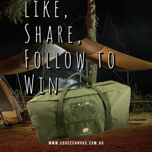 Cooee Canvas – Win 1 of 2 Kapooka Canvas bags