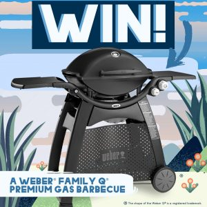 Funch – Win a major prize of a Weber Family Q Premium Gas Barbecue OR 1 of 5 minor prizes