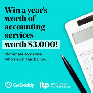 GoDaddy – Win Free accounting services from ITP Accounting Professionals