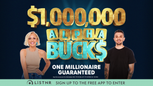 HIT – Carrie and Tommy's $1,000,000 Alphabucks – Win one million dollars
