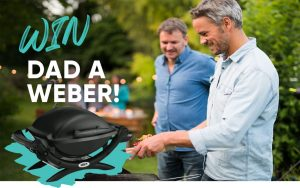 IGA Marketplace – Win a Black Baby Q Weber PLUS a $100 meat tray for Dad