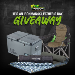 Ironman 4×4 – Win a prize pack for Dad valued over $1,600